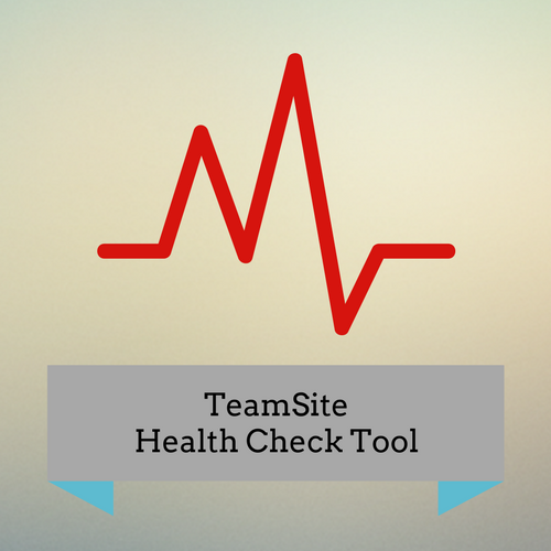 TeamSite Health Check Tool